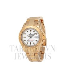 Rolex Yacht-Master Yellow gold 29mm White