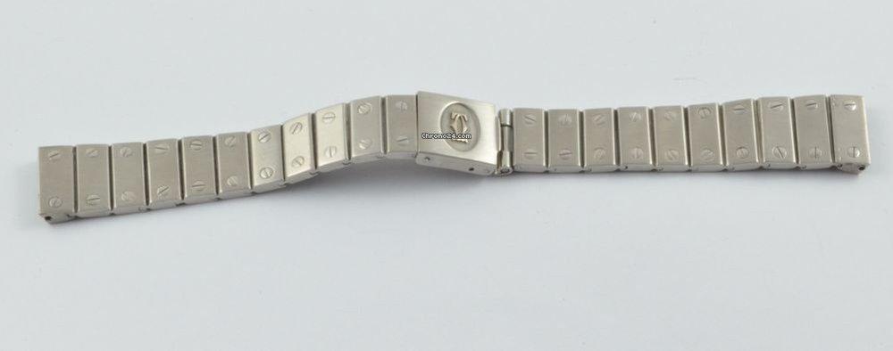 cartier uhren armband stahl 12 mm