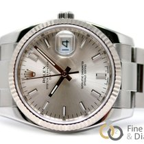 Rolex Oyster Perpetual Date Acero 34mm Plata Sin cifras España, Madrid