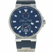Ulysse Nardin Marine Chronometer 41mm Steel 41mm Blue United States of America, Florida, Sarasota