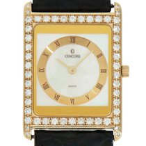 Concord Yellow gold 28mm Quartz 51.90.668 G pre-owned