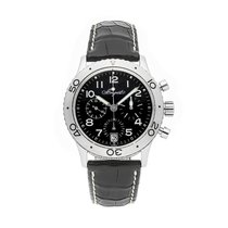 Breguet pre-owned Automatic 39.5mm Black 10 ATM