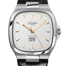 Glashütte Original Seventies Panorama Date Steel 40mm Silver No numerals United States of America, New York, New York