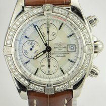 Breitling Chronomat Evolution/Original Diamond Bezel/REF: A13356