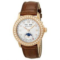 Blancpain Leman Moonphase Mother of Pearl 18kt Rose Gold...