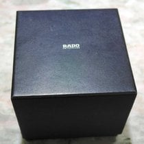 Rado vintage leather black complete watch box with booklet