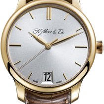 H.Moser & Cie. Endeavour Rose gold Silver United States of America, New York, Brooklyn