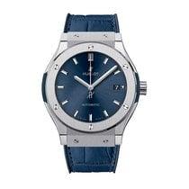Hublot Classic Fusion 42mm Automatic Titanium Mens Watch...
