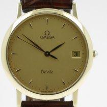 """Omega """"De Ville""""  18K gold case. Quartz movement"""