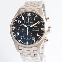 IWC IW377710 Steel 2019 Pilot Chronograph 43mm new