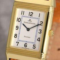 Jaeger-LeCoultre Reverso Classique 18k gold gent's wristwatch...