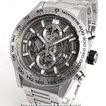 TAG Heuer Carrera Calibre HEUER 01 Chronograph Grey Phantom...