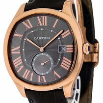 Cartier Drive Gray Dial 18KT Rosegold Automatic Men's Watch...
