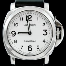 Panerai Luminor Base tweedehands 44mm Wit Rubber