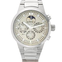 IWC | A stainless Steel Automatic Perpetual Calendar Chronogra...