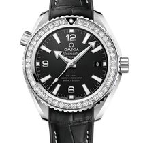 Omega Seamaster Planet Ocean Steel 39.5mm Black