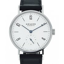 Nomos Tangente 35 Hand Wound White Dial