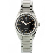 Omega pre-owned Automatic 38mm Black Sapphire Glass