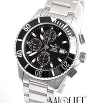 Marcello C. new Automatic Luminous hands Rotating Bezel Luminous indices 44.2mm Steel Sapphire crystal