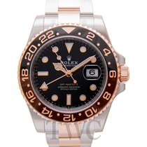 Rolex GMT-Master II Rose gold 40.00mm Black