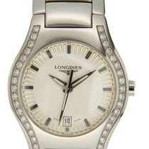 Longines Oposition Steel 25mm White