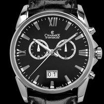 Charmex Chronograph 42mm Quartz 2018 new Black