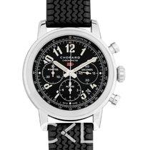 萧邦 CHOPARD Mille Miglia Chronograph Black Dial Men's Watch - 16