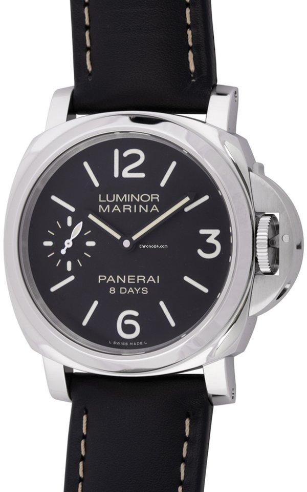Panerai   Luminor Marina 8 Days   PAM 510   Stainless Steel... for ... 45ca95a3aee1