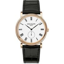 パテック フィリップ Calatrava 36mm Rose Gold on Leather Strap 5116R-001...