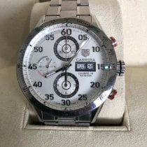 TAG Heuer Carrera Calibre 16 pre-owned 42mm Steel