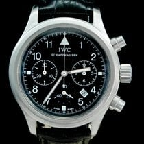 萬國 IW3741 鋼 Pilot Chronograph 36mm