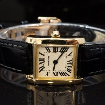 Cartier Tank Française Yellow gold 20mm White Roman numerals United Kingdom, Essex