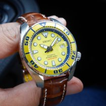 Seiko Prospex Steel 45mm Yellow No numerals United States of America, New Jersey, Rahway