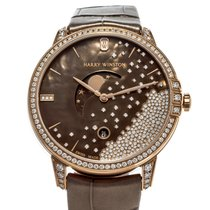 Harry Winston Midnight Rose gold 39mm Brown United States of America, Texas, Houston