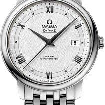 Omega De Ville Prestige Steel 39.5mm Silver United States of America, New York, Airmont
