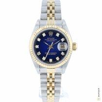Rolex Lady-Datejust Goud/Staal 26mm Blauw Nederland, Maastricht