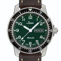Sinn 104 Acier 41mm Vert