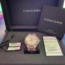 Concord new Quartz 43mm Steel Sapphire crystal