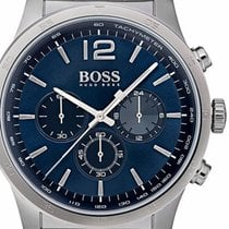 Hugo Boss Steel 44mm Quartz 1513527 new