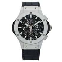 Hublot Big Bang Aero Bang Сталь 44mm Чёрный