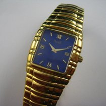 Piaget Tanagra Yellow gold 28.5mm Blue Roman numerals United States of America, Texas, Houston