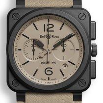 Bell & Ross BR 03-94 Chronographe nuevo Automático Cronógrafo Reloj con estuche y documentos originales BR0394-DESERT-CE