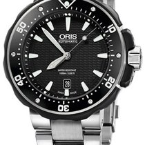 Oris ProDiver Date Steel Black United States of America, New York, Brooklyn