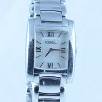 Ebel Brasilia Damen Uhr Stahl/stahl Perlmutt Top Zustand Rar 25mm