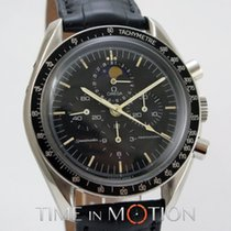Omega 1ST Speedmaster Moon Phase Model 145 0809 with Omega Pouch