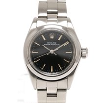 Rolex Vintage Oyster Perpetual Lady Black Dial