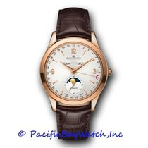 Jaeger-LeCoultre Master Calendar Rose gold 39mm Silver Arabic numerals United States of America, California, Newport Beach