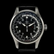 IWC Pilot Worldtimer Çelik 45mm