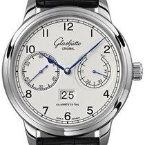 Glashütte Original Senator Observer neu 2021 Automatik Uhr mit Original-Box und Original-Papieren 100-14-05-02-04