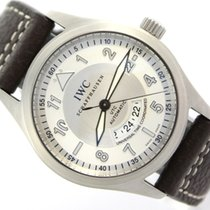 IWC Pilot Spitfire UTC Steel 39mm White